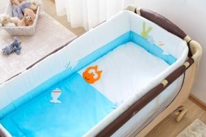 Aybi Baby 6 Parça Aquarium L.B. Bebek Mini Uyku Seti 612L