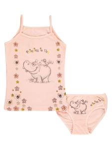Civil Kız Çocuk İç Çamaşır Takımı 2-10 Yaş Somon