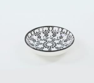Keramika Tribal Yemek Kahvaltı Takımı 6 Kişilik 45 Parça
