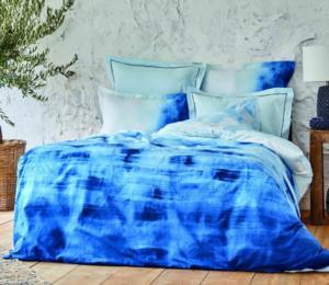 Karaca Home Batis Mavi Ranforce Çift Kişilik Nevresim Takımı (4 Yastık - Pico)