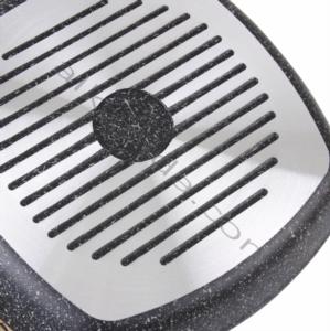 Falez Black Line 28cm Granit Tek Izgara Tava BLN 3023
