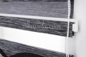Troya Mini Sistem Siyah Zebra Perde MS 107