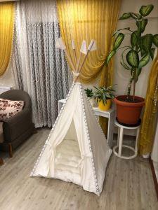 Zeynep Tekstil Puf Minderli Çocuk Oyun Çadırı