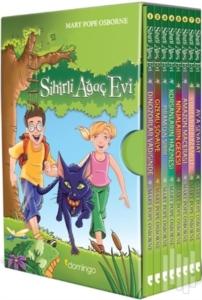 Sihirli Ağaç Evi Kutulu Set (8 Kitap Takım)-Mary Pope Osborne