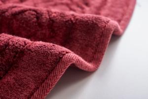 Alanur Aspendos Eskitme Bordo Cotton Halı