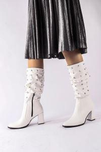 Moda Eleysa Dolly Siyah Süet Çizme MODAELYSSA2009