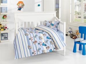 Belenay Bebek Nevresim Takımı- Sevimli Mavi
