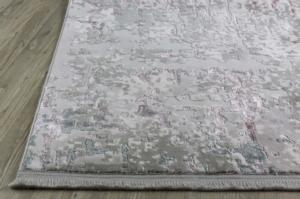 Koza Halı Farahan Gri-Pudra Akrilik Halı - 45246A
