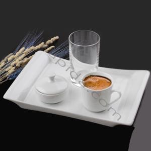 Güral Porselen 4 Parça Porselen Türk Kahvesi Takımı