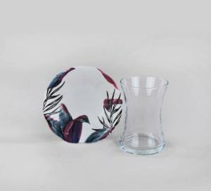 Keramika Vio Cam Çay Takımı 12 Parça 6 Kişilik - 19179