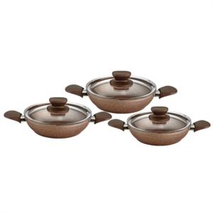 Özlife 6 Parça Hüma Rose Omlet Set- 608