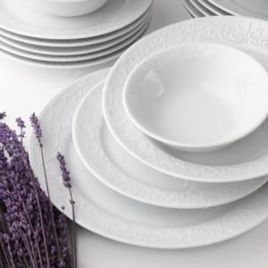 Güral Porselen 24 Parça Bahar Dalı Yemek Takımı BHD24Y400