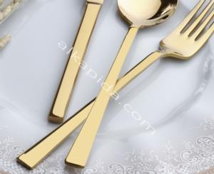 Özlife Hüma Gold 36 Parça Çatal Kaşık Bıçak Takımı- 352