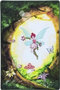 Confetti Fairy Forest Yeşil Bukle Çocuk Halısı