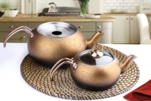 Fms Granit Küre Orta Boy Çaydanlık- 9019