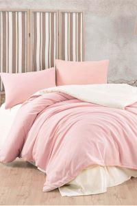 Pink & Cream Tek Kişilik Pamuklu Yorgan