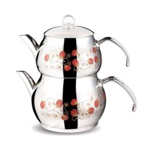 Fms Aşiret Serisi Dekorlu Büyük Boy Çaydanlık- 4012-D