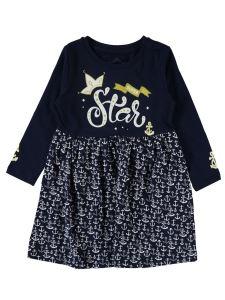 Cvl Kız Çocuk Elbise 2-5 Yaş Lacivert