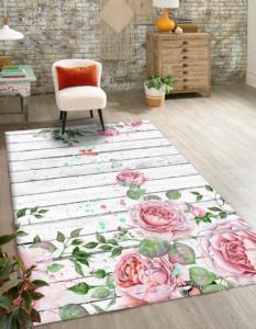 Markaev 3D Polyester PVC Tabanlı Halı 811