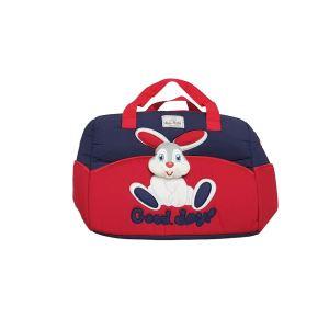 Tavşan Kabartmalı Lüks Çanta Kırmızı