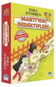Martı'nın Dedektifleri Seti (5 Kitap Takım)-Esra Avgören