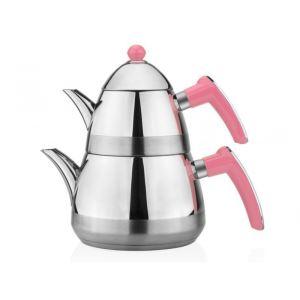 Taç Casablanca Çaydanlık Takımı Pembe