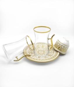 Özcam Kristal 18 Parça Çay Takımı D-1529