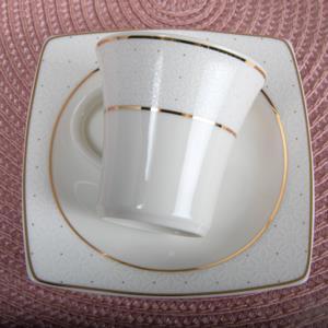 Güral Porselen 12 Parça Caroline Türk Kahvesi Takımı 5113