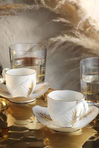 Arte Bianco Lavin Kahve Takımı