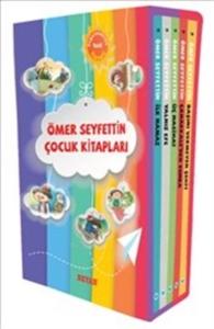 Ömer Seyfettin Çocuk Kitapları Ortaöğretim (5 Kitap Set)-Ömer Seyfettin