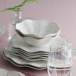 Güral Porselen 24 Parça Nesrin Bone Yemek Seti Y41011287