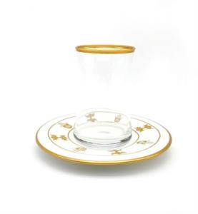 Özcam Kristal 12 Parça 6 Kişilik Çay Takımı D-1742