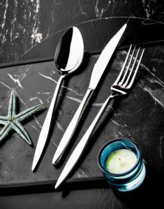 Özlife Ela Sade 36 Parça Çatal Kaşık Bıçak Takımı - 384