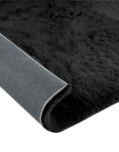 Dinarsu Halı Fuzzy Serisi 27 90-Black