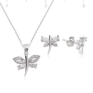 Gümüş Yusufçuk Bayan Set
