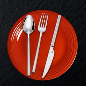 Hisar 30 Parça Milano Saten Çatal Kaşık Bıçak Takımı