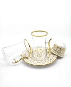 Özcam Kristal 18 Parça Çay Takımı D-1526