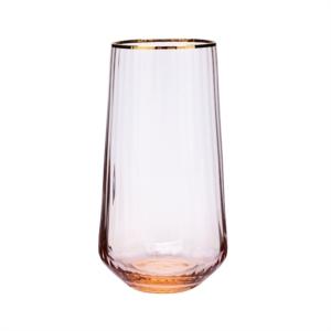 Karaca Misty Line Cam Meşrubat Bardağı Turuncu