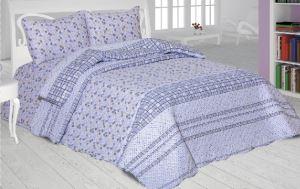 Evlen Home 5 Parça Safran Çift Kişilik Gelin Seti Mavi GLN-80909