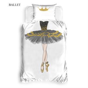 The Club Cotton 3D Baskılı Tek Kişilik Nevresim Takımı Ballet
