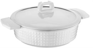 Falez Trendy Ceracast Beyaz 7 Parça Döküm Tencere Seti FDS 1024