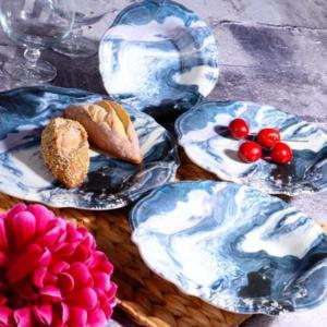 Kosova 24 Parça Porselen Yemek Takımı Fulya Blume -403