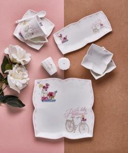 Neva Romantıc Rose 32 Parça Bone Porselen Kahvaltı Takımı N2500