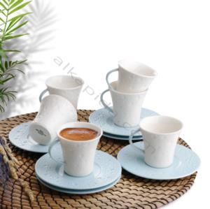 Güral Porselen 12 Parça Mania Türk Kahvesi Takımı