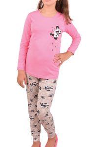 Nicoletta Kız Çocuk Pijama Takımı Uzun Kollu