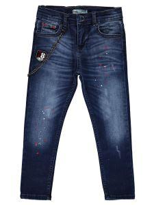 Civil Boys Erkek Çocuk Kot Pantolon 6-9 Yaş Koyu Mavi