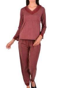 Nicoletta Kadın Pijama Takımı Uzun Kollu