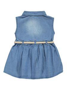 Civil Girls Kız Çocuk Elbise 2-5 Yaş Mavi