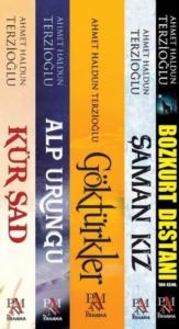 Göktürk Tarihi Seti (5 Kitap Takım)-Ahmet Haldun Terzioğlu