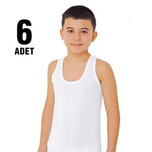 Güryıldız 28201 Erkek Çocuk Penye Atlet 6